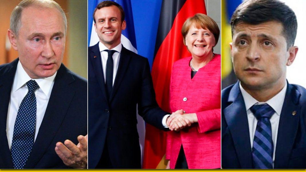 Зеленский, Макрон, Меркель и Путин - встреча состоится