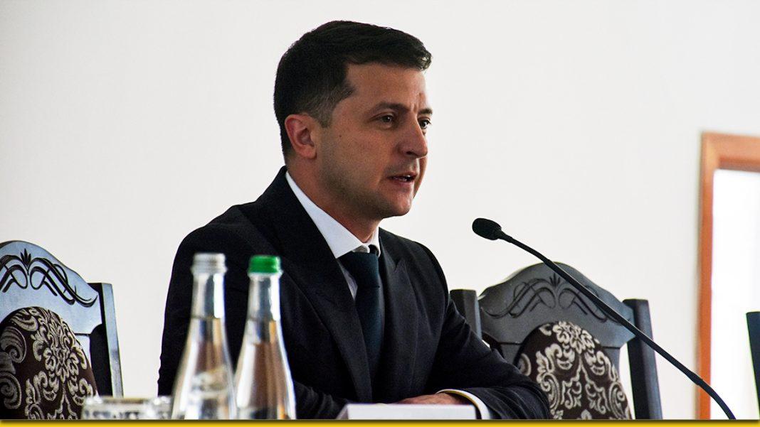 В Житомирской области Зеленский заявил, что не позволит ставить себе условия