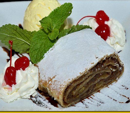 Віденський яблучний штрудель - рецепт ідеального десерту