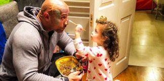 У мене є донька, тому я завжди прекрасний - найщасливіші тата