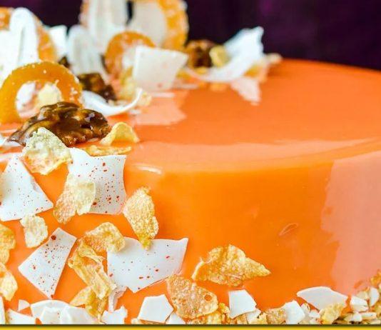 Святковий десерт Помаранчевий настрій - зовсім без цукру