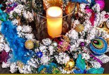 Різдвяний вінок: майстриня перетворила непотрібну річ на диво - лайфхак
