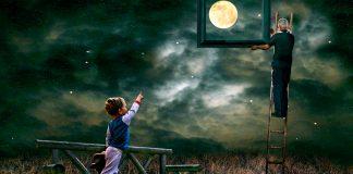 Казка про Промінчик Місяця. Її написав Михайлик — хлопчик з хоспісу