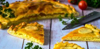 Заливний пиріг з сиром — незрівнянна смакота без зайвого клопоту