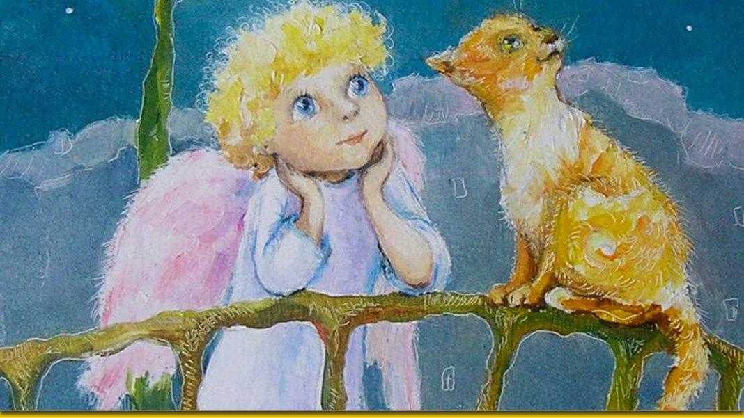 Про кота й ангела - зворушлива казка для дорослих