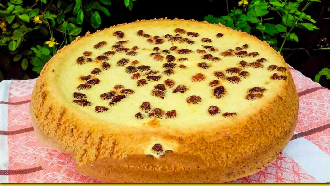 Пиріг Ізюмський - швидкий рецепт з доступних продуктів
