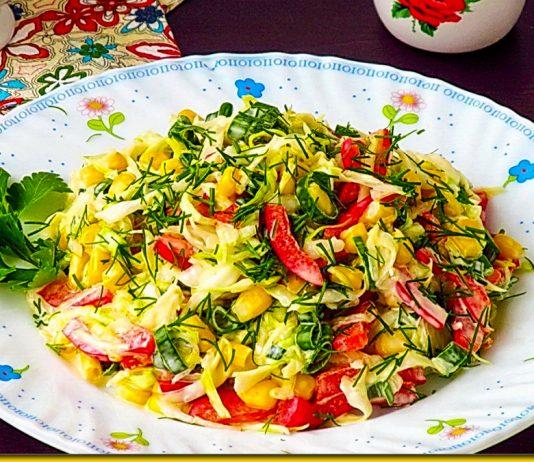 """Ніжний салат """"Оленка"""" - соковитий і дуже смачний"""