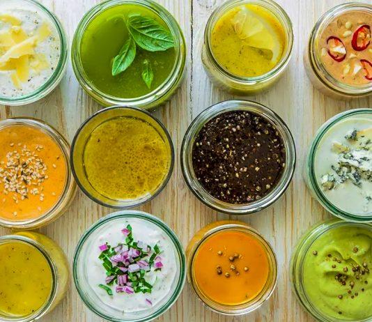 5 шикарних заправок для салату — смачна заміна майонезу