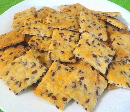 Домашнє галетне печиво з насінням льону — свято смаку