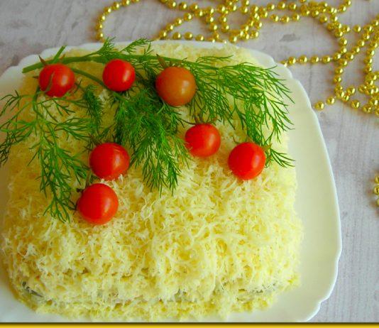 Салат Перший сніг з куркою та горіхами - добавки просять всі