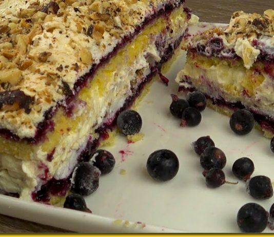 Торт Пані Валевська - десерт, який зводить з розуму