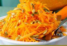 Лінивий салат з гарбуза — шалено смачно і дуже корисно