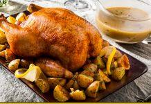 Курочка в кефірі — ніжне м'ясо, яке можна їсти губами