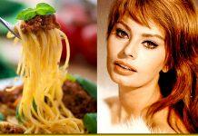 Спагеті від Софі Лорен — улюблений рецепт чудової актриси