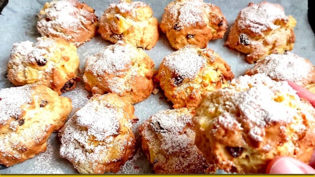 Швидкі яблучні булочки — улюблений десерт для всієї родини