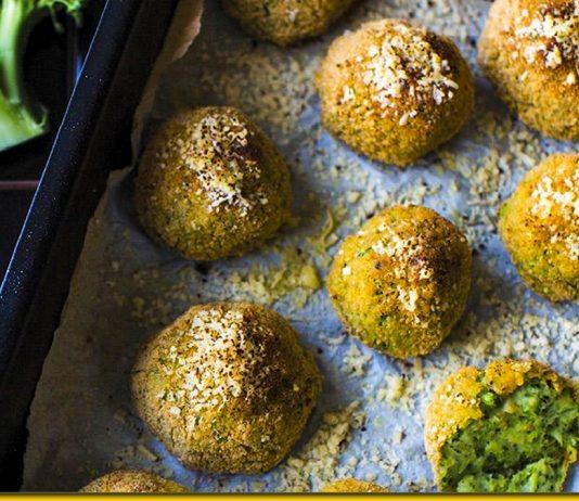 Сирні кульки з броколі — ніжна і дуже смачна закуска