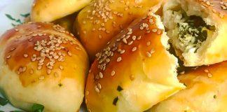 Повітряні турецькі пиріжки — чарівна випічка без дріжджів