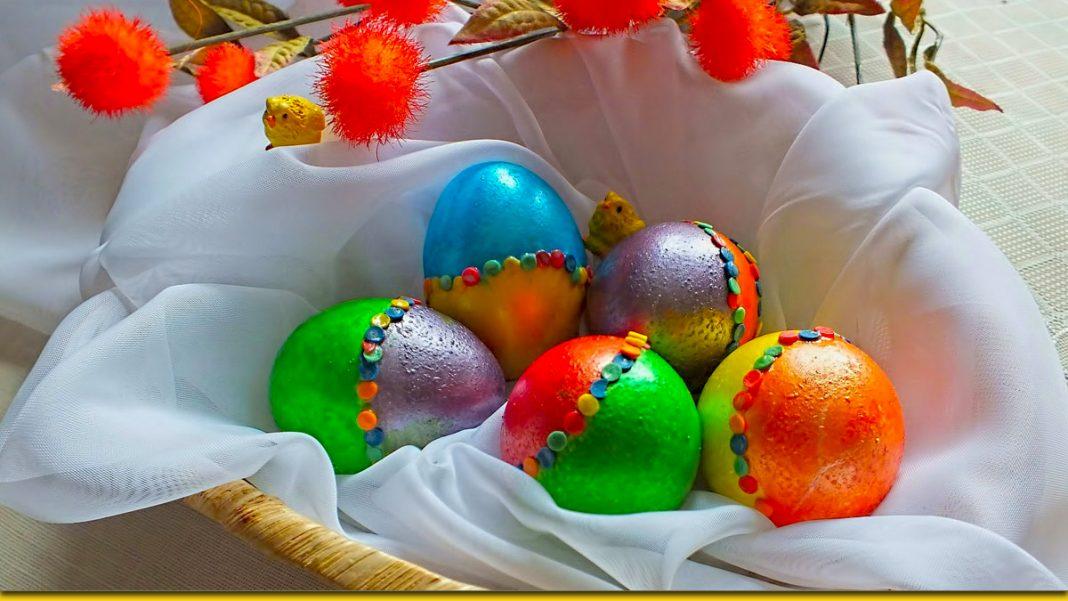 Перламутрові яйця та інші поради для кращого великоднього кошика