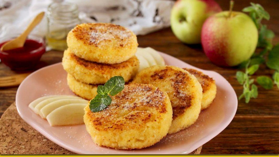 Яблучні сирники з корицею — ароматна радість для всієї родини