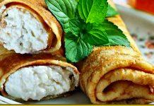 Ніжні налисники з сиром — десерт, як з бабусиної печі
