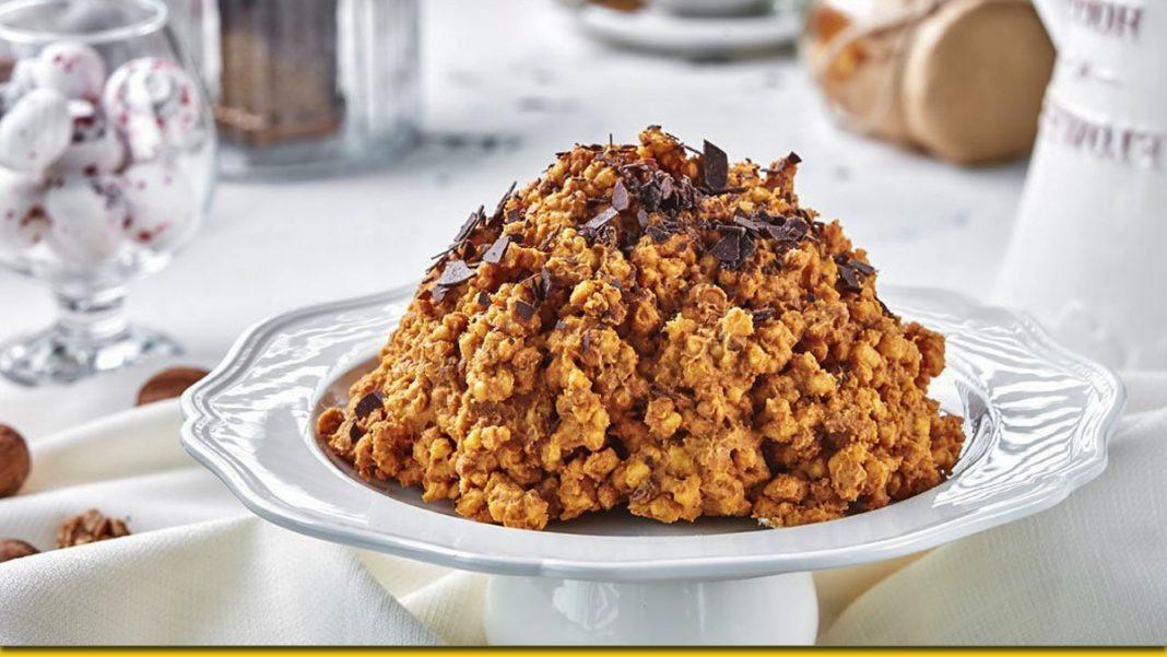 Мурашник без випічки — швидкий тортик з вареним згущеним молоком