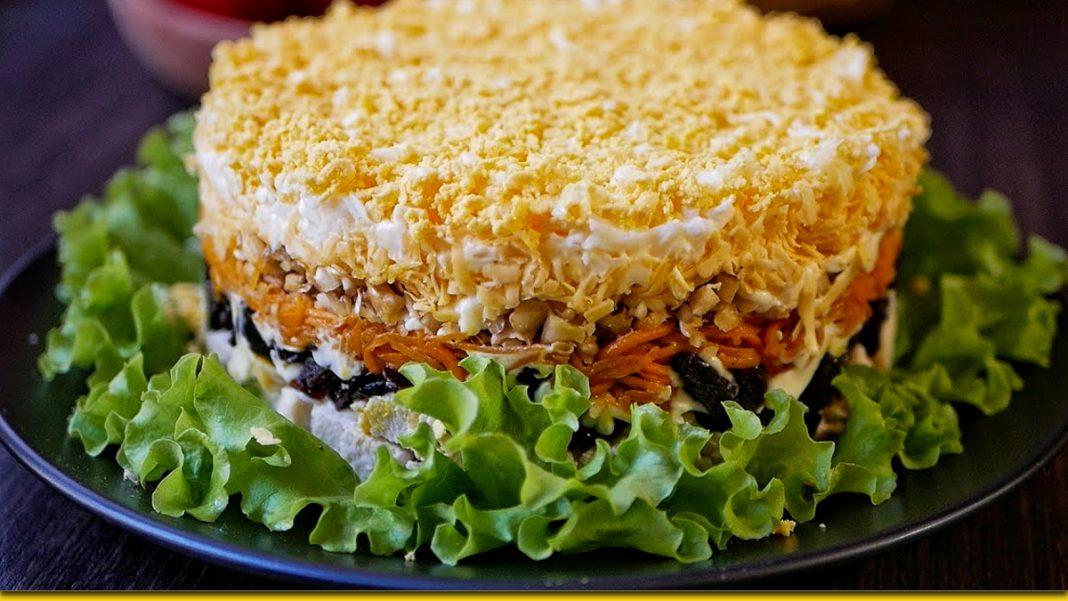 Салатики з чорносливом — яскравий смак, який неможливо забути