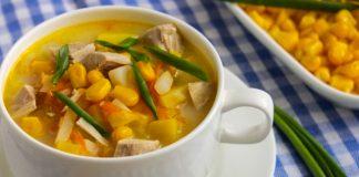 Сирний суп з кукурудзою — божественний смак першої страви