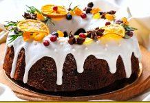 Ажурний кекс на сметані — вологий і ніжний бісквіт